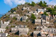 Pueblo abandonado Imagen de archivo libre de regalías