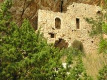 Pueblo abandonado alrededor de Markaska en Croacia Imagen de archivo libre de regalías