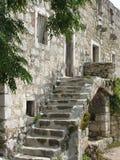 Pueblo abandonado alrededor de Markaska en Croacia Foto de archivo