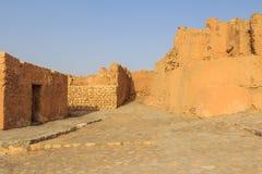 Pueblo abandonado en Túnez Fotografía de archivo