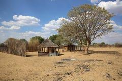 Pueblo africano Foto de archivo libre de regalías
