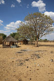 Pueblo africano Fotografía de archivo