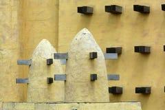 Pueblo africano tradicional imagen de archivo