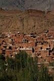 Pueblo antiguo de Abyaneh Fotografía de archivo libre de regalías