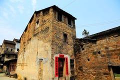 Pueblo antiguo de Longhu de la ciudad de Shantou, Guangdong, China fotografía de archivo libre de regalías