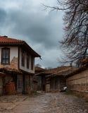 Pueblo arquitectónico de Zheravna de la reserva, Bulgaria Imagen de archivo