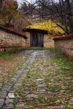 Pueblo arquitectónico de Zheravna de la reserva, Bulgaria Fotografía de archivo libre de regalías