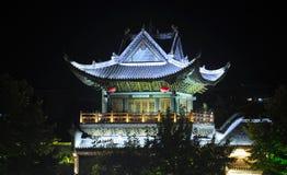 Pueblo asiático China de Fenghuang de la pagoda Fotografía de archivo libre de regalías