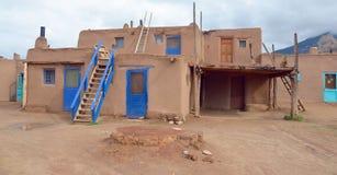 Pueblo av Taos Royaltyfria Bilder