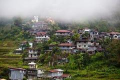 Pueblo Banaue, provincia Filipinas de Ifugao Fotos de archivo libres de regalías