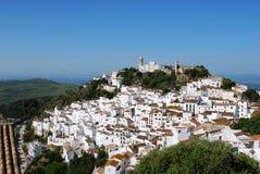 Pueblo Blanco di Casares Fotografia Stock