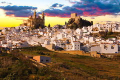 The Pueblo Blanco of Olvera, Spain. Stock Photos