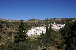 Pueblo blanco, Parauta, Spain. Stock Photo