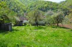 Pueblo bosnio viejo Imagen de archivo libre de regalías