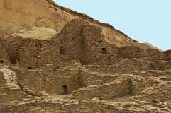 pueblo chaco φαραγγιών παλαμίδων Στοκ εικόνες με δικαίωμα ελεύθερης χρήσης