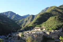 Pueblo chino imagen de archivo
