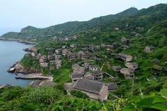 Pueblo chino abandonado Fotos de archivo libres de regalías