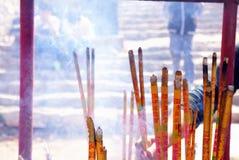 Pueblo chino de la adoración Fotos de archivo