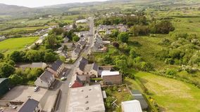 Pueblo Co Donegal Irlanda de Creeslough almacen de video