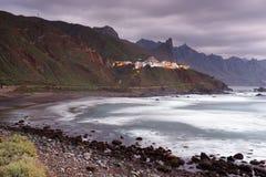 Pueblo de Almaciga en Tenerife Imagen de archivo libre de regalías