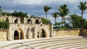 Pueblo de Altos de Chavon en el La Romana fotografía de archivo