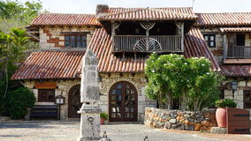 Pueblo de Altos de Chavon en el La Romana Imágenes de archivo libres de regalías