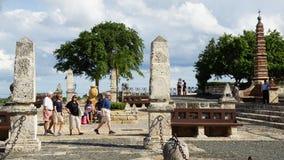 Pueblo de Altos de Chavon en el La Romana foto de archivo libre de regalías