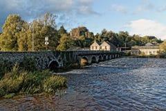 Pueblo de Ardfinnan en el condado Tipperary Fotos de archivo libres de regalías