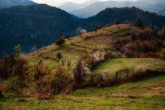 Pueblo de Bashevo, Rhodopes del este, Bulgaria Foto de archivo