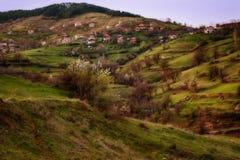 Pueblo de Bashevo, Rhodopes del este, Bulgaria Imágenes de archivo libres de regalías