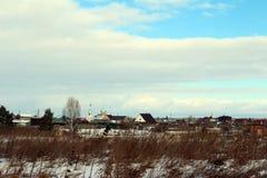 Pueblo de Bolshekulachje imagenes de archivo
