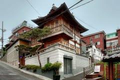 Pueblo de Bukchon Hanok, Seul, Corea del Sur Fotos de archivo