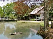 Pueblo de Cajun cerca de Lafayette, Luisiana Imágenes de archivo libres de regalías
