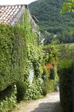 Pueblo de Castelnaud Imagen de archivo libre de regalías