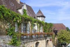 Pueblo de Castelnaud Fotografía de archivo