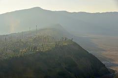 Pueblo de Cemoro Lawang Fotos de archivo libres de regalías