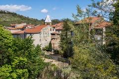 Pueblo de Coudes, Francia Fotos de archivo