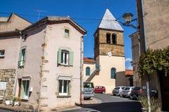 Pueblo de Coudes, Francia Imagen de archivo libre de regalías