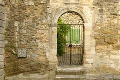 Pueblo de Cucuron en Provence Foto de archivo
