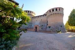 Pueblo de Dozza, Emilia-Romagna Foto de archivo libre de regalías
