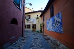Pueblo de Dozza, Emilia-Romagna Fotos de archivo libres de regalías