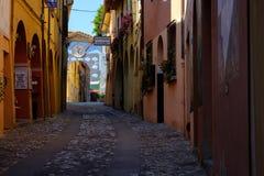 Pueblo de Dozza, Emilia-Romagna Imágenes de archivo libres de regalías
