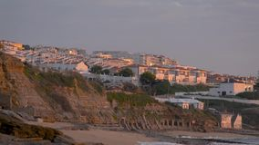 Pueblo de Ericeira, Portugal almacen de metraje de vídeo
