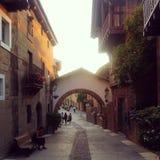 Pueblo de España Foto de archivo