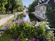 Pueblo de Estrasburgo en Francia Imágenes de archivo libres de regalías