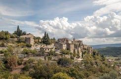 Pueblo de Gordes Foto de archivo