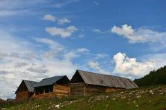 Pueblo de Hemu Foto de archivo libre de regalías