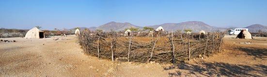 Pueblo de Himba Fotos de archivo libres de regalías