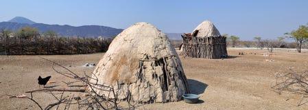 Pueblo de Himba Fotografía de archivo libre de regalías