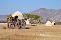 Pueblo de Himba Fotografía de archivo